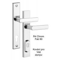 Bezpečnostní kování R4 chrom Fab 90-