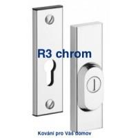 Bezpečnostbí kování R3 chrom