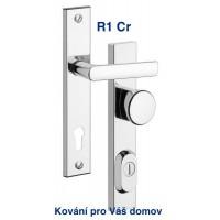 Bezpečnostní kování R1 chrom  Fab 90